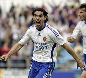 Ayala celebra el gol